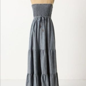 Anthro Daughters of the Liberation Maxi Dress S